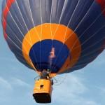 Мой первый полёт на воздушном шаре!