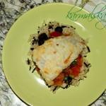 Пангасиус на овощной «подушке»