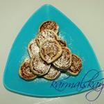 Печенье с инжиром из творожного теста